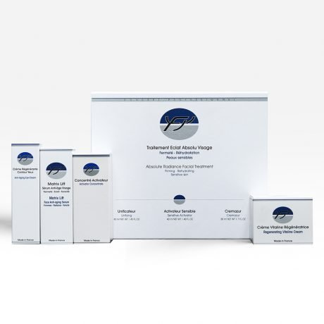 Protocol Absolute Radiance With Spots Treatment ( Dry Sensitive Skin)